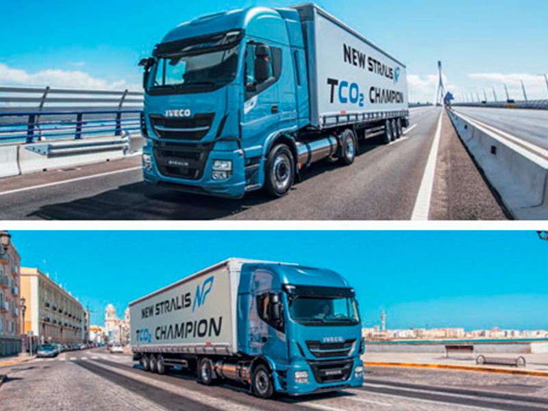 camiones Iveco gas natural
